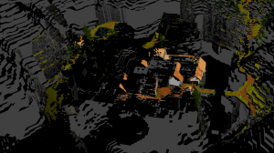 Current state of my attempt to reconstruct Ecstatica's level geometry